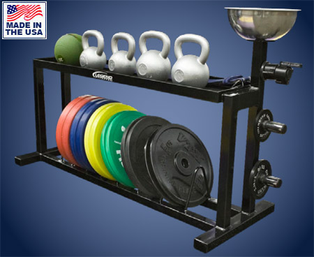 Legend Fitness 3313 Multi Equipment Storage Rack for Commercial Gyms
