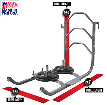 Legend Fitness 3400 Modular Push/Pull Sled