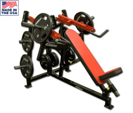 Legend Fitness 6002 Plate Loaded Unilateral Converging Incline Chest Press