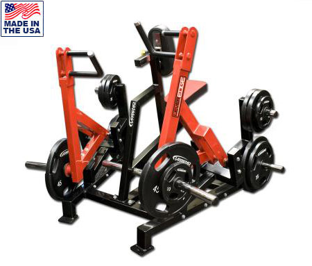Unilateral Diverging Seated Vertical Row