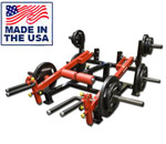 Legend Fitness 6008 Plate Loaded Trap Shrug / Lunge / Deadlift Machine