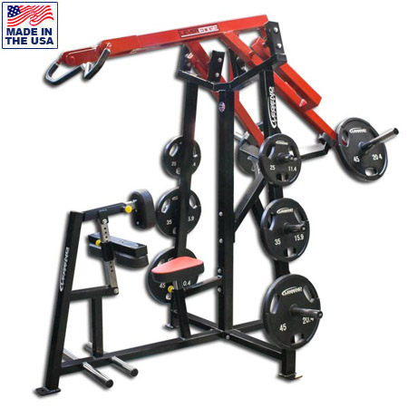 Legend Fitness 6009 Plate Loaded Unilateral Diverging High Row