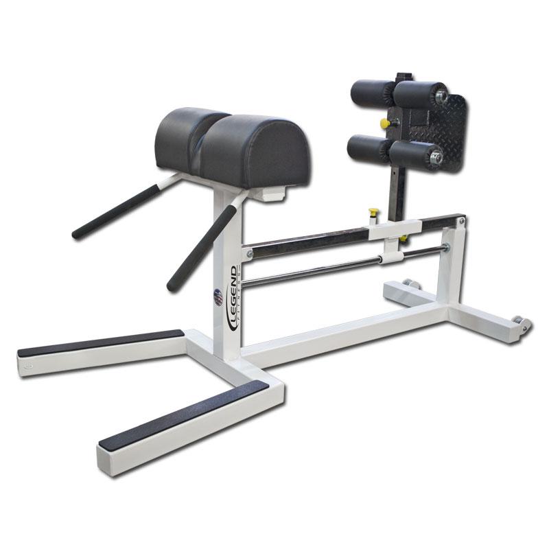 Original Michael Yessis Glute Ham Low Back Bench Legend Fitness 7006