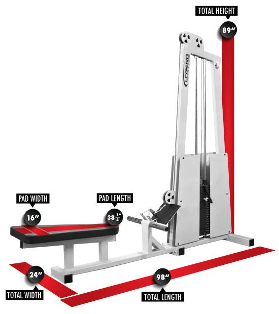 Bowflex Revolution Seated Lat Row: Seated Row Machine -- Legend Fitness (906