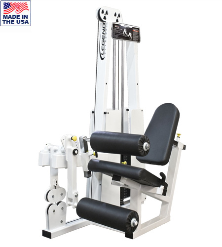 Leg Extension-Leg Curl Combo Machine -- Legend Fitness (918)