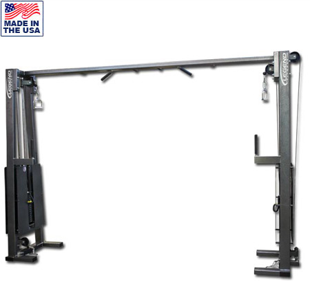 Cable Crossover Machine -- Legend Fitness (919)