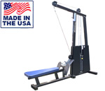 Legend Fitness 945 Selectorized Seated Lat Row / Low Row Combo Machine