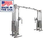 Cable Crossover with Adjustable Pulley Machine -- Legend Fitness (954)