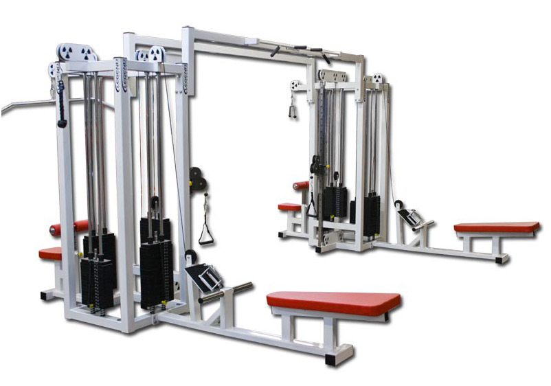Eight Stack Combo Jungle Gym Legend Fitness 959