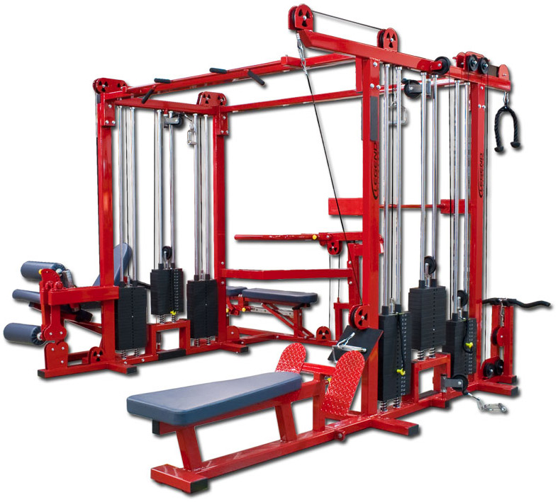 Six Stack Combo Jungle Gym Legend Fitness 965