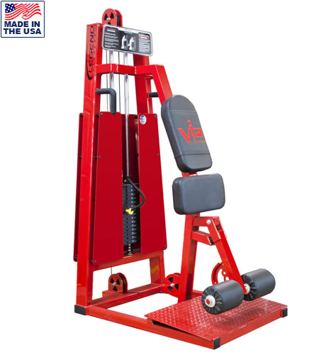 Selectorized Standing Leg Curl