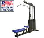 Legend Fitness 971 PRO SERIES Lat Pulldown / Low Back Row Combo