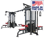 Legend Fitness 1138 SelectEDGE Eight Stack Jungle Gym for commercial gyms and clubs