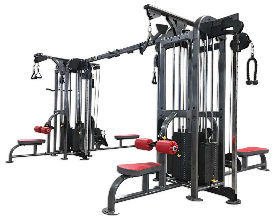 Selectedge eight stack jungle gym legend fitness