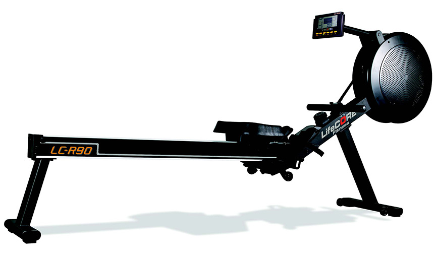 Lifecore r rowing machine for garage gym workouts