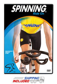 Spinning® Ride On: Endurance Energy Zone™ DVD
