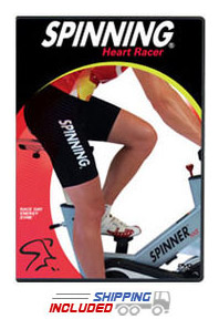 Spinning® Heart Racer: Race Day Energy Zone™ DVD