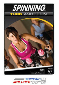 Spinning® Turn & Burn DVD