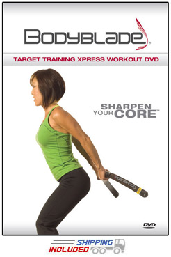 Bodyblade® Target Training Xpress Workout and Instructional DVD