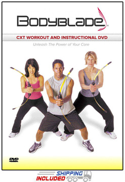 Bodyblade® CXT Workout and Instructional DVD