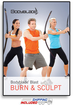 Bodyblade® Blast - Burn & Sculpt Workout DVD