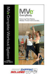 Peak Pilates® MVe® EveryBody Chair Workout DVD