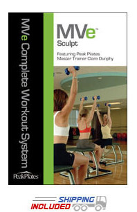 Peak Pilates® MVe® Sculpt Chair Workout DVD