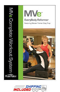 Peak Pilates® MVe® EveryBody Reformer Workout DVD