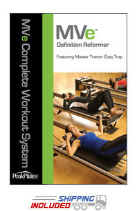 Peak Pilates® MVe® Definition Reformer Workout DVD