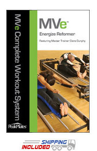 Peak Pilates® MVe® Energize Reformer Workout DVD