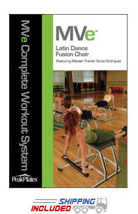 Peak Pilates® MVe® Latin Dance Fusion Chair Workout DVD