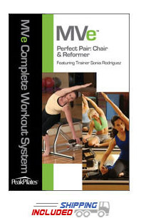 Peak Pilates® MVe® Perfect Pair Chair and Reformer Workout DVD