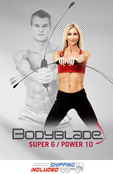 Bodyblade® Super 6 / Power 10 Workout and Instructional Training DVD