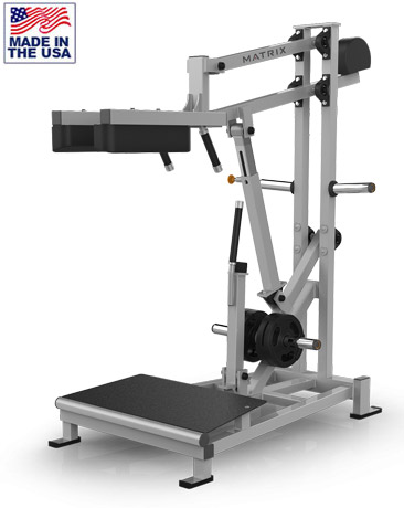 American Built AB-400 Plate Loaded Perfect Squat Machine for Commercial Gyms by Matrix