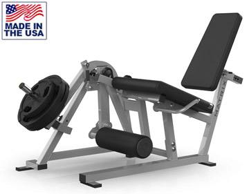 American Built (AB-401) Plate Loaded Leg Extension Machine by Matrix