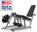 American Built(AB-401 Plate Loaded Leg Extension Machine by Matrix