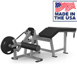 American Built AB-402 Plate Loaded Prone Leg Curl for Hamstring Training by Matrix