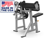 American Built AB-431 Plate Loaded Bicep Preacher Curl Machine Matrix