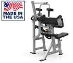 American Built AB-432 Plate Loaded Tricep Extension for Commercial Clubs by Matrix