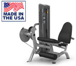 American Built AB-6001 Selectorized Leg Extension for Commercial Clubs by Matrix