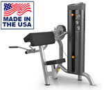 American Built AB-6011 Selectorized Bicep Curl Machine for Commercial Clubs by Matrix