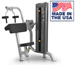 American Built AB-6012 Selectorized Tricep Extension Machine for Commercial Clubs by Matrix