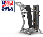 American Built AB-6014 Selectorized Shoulder Press for Commercial Clubs by Matrix