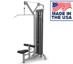 American Built AB-6021 Selectorized Lat Pulldown Machine for Clubs by Matrix