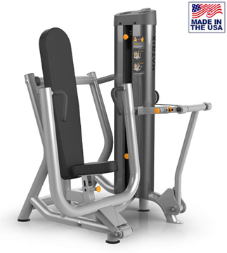 American Built AB-6022 Selectorized Chest Press Machine