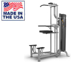 American Built AB-6037 Selectorized Weight Assisted Chin-Up Tricep Dip by Matrix