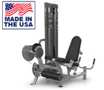 American Built AB-6040 Selectorized Leg Extension / Leg Curl Machine Combo