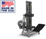 American Built AB-6041 Selectorized Abdominal Crunch Lower Back Extension by Matrix