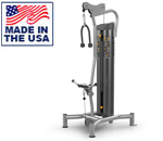 American Built AB-6042 Selectorized Bicep Curl / Tricep Extension Machine by Matrix