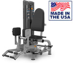 American Built AB-6043 Selectorized Abductor / Adductor Thigh Trainer by Matrix